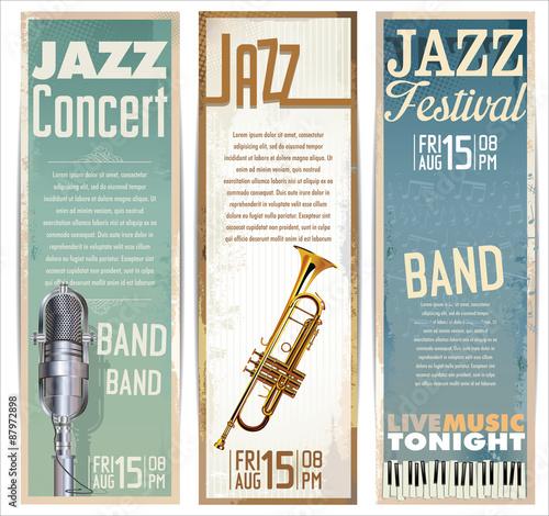 Jazz music festival, poster Poster