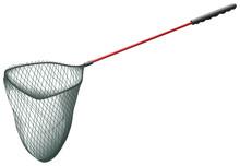 Single Fishing Net On White