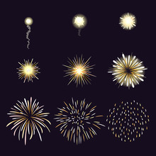 Animation Of Firework Effect I...