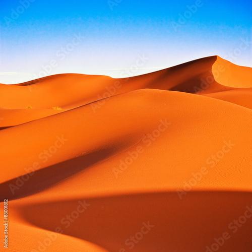 Deurstickers Marokko Sahara Desert
