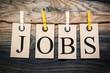 Leinwandbild Motiv Jobs