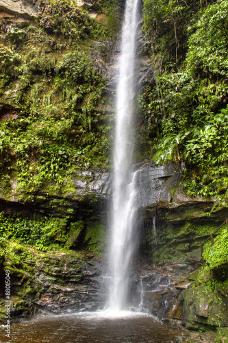 Fotografie, Obraz  waterfall near the city of Tarapoto, Peru