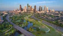 Houston Skyline During Late Af...