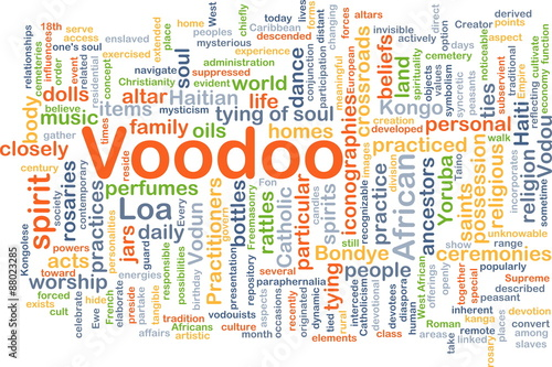 Voodoo background concept - Buy this stock illustration and