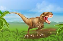 Tyrannosaurs Rex Dinosaur