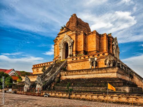 Fotografija  Wat Chedi Luang. Chiang Mai, Thailand