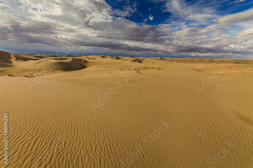 Poster de jardin Desert de sable Beautiful views of the Gobi desert. Mongolia.