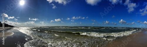 strand wellen panorama #88046870