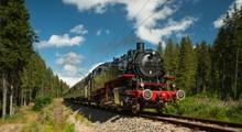 Dmpflokomotive Im Schwarzwald