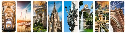 Papiers peints Barcelona Historical views of Barcelona