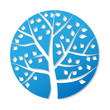 drzewo logo wektor