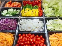 Salad Bar Fresh Vegetables Hea...