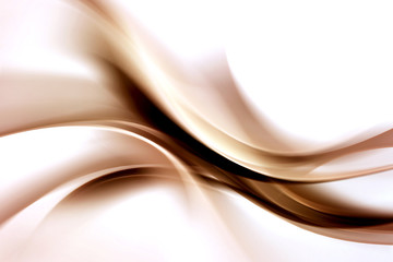 Abstract Brown Waves Background