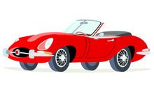 Caricatura Jaguar Tipo E  Conv...