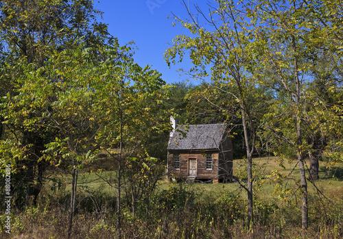 Photo  Joel Sweeney landmark in rural Virginia in Appomattox County