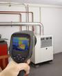 Gas Furnace Thermal Image