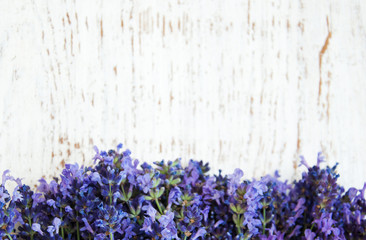 Panel Szklany Do gastronomii lavender flowers