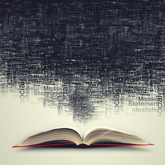 Fototapeta samoprzylepna Opened book