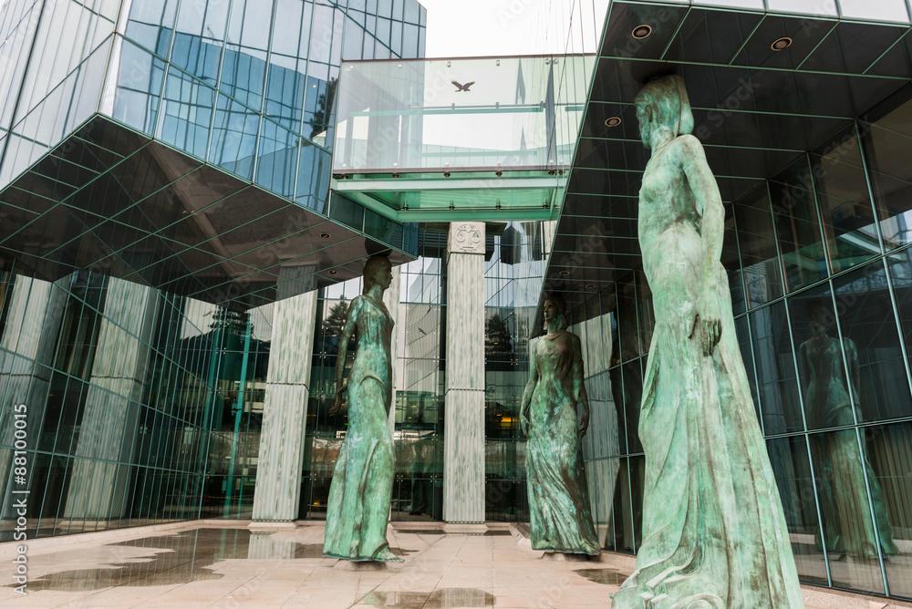 Fototapety, obrazy: Sąd Najwyższy w Warszawie
