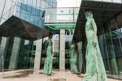 Obraz Sąd Najwyższy w Warszawie - fototapety do salonu