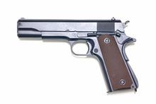 Pistol Isolated On White Backg...