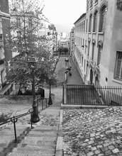 Steps Of Montmartre, Paris
