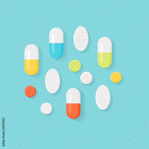 Fotografia  Medicine Pills