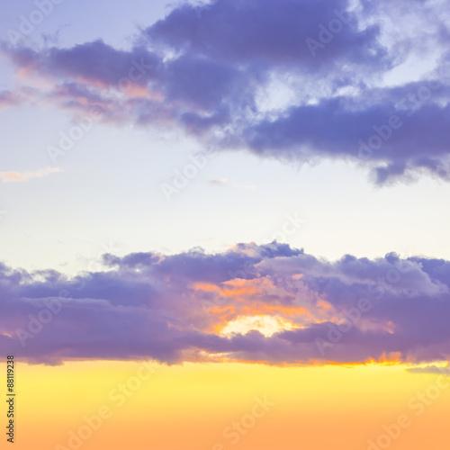 sunset sky - 88119238