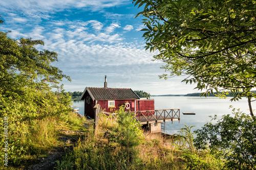 Poster Cote Schären an der schwedischen Küste