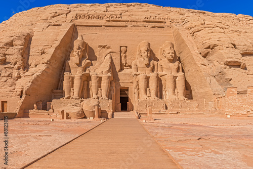 Foto  Abu Simbel Temple of King Ramses II