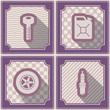 Seamless background with cars icons for your design