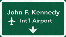 New York John Fitzgerald Kennedy JFK USA International Airport H