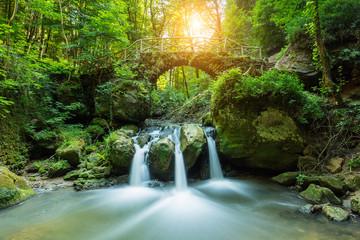 Hidden Mysteries waterfall