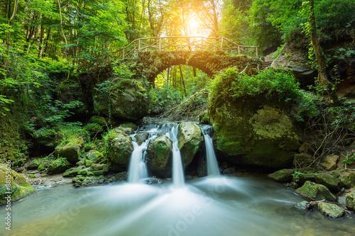 Foto-Rollo - Hidden Mysteries waterfall (von rcfotostock)