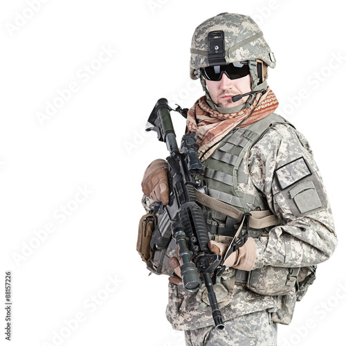 Photo paratrooper airborne infantry