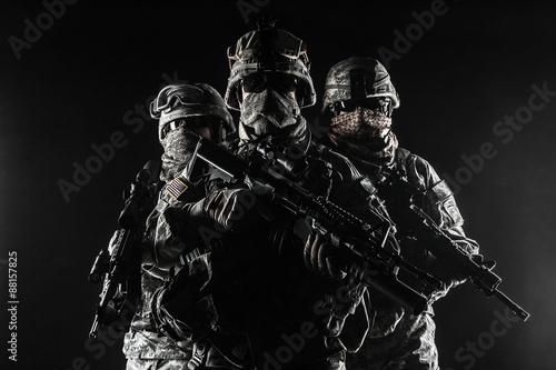 Staande foto Muziekband paratroopers airborne infantry