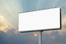 Blank Billboard For Advertisem...
