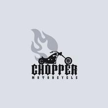 Fire Chopper Motorcycle