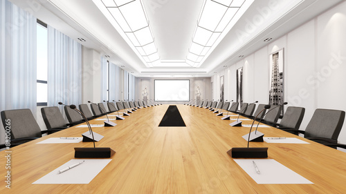 duzy-stol-w-sali-konferencyjnej