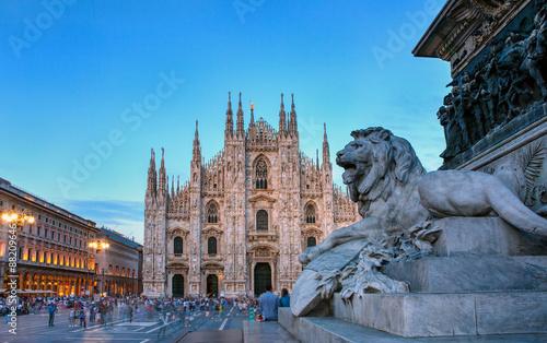 Valokuva  Piazza del Duomo, Milan