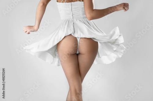 Fotografía  девушка в платье с попой
