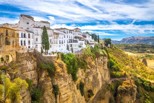 Stampa su Tela Ronda, Andalusien, Spanien