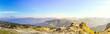 Blick vom Hohen Ifen, Bergpanorama, Kleinwalsertal