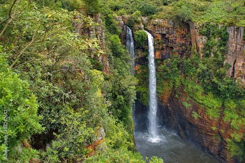 Foto op Plexiglas Zuid Afrika Mac Mac waterfall, Blyde river area, Sabie, South Africa
