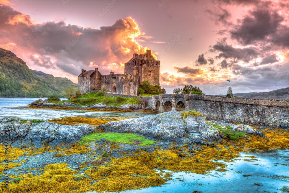 Fototapeta Eilean Donan Castle