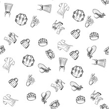 Hand Drawn Fashion Pattern
