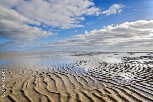 Foto op Plexiglas Noordzee Wattenmeer