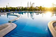 Hotel Swimming Pool In Krym