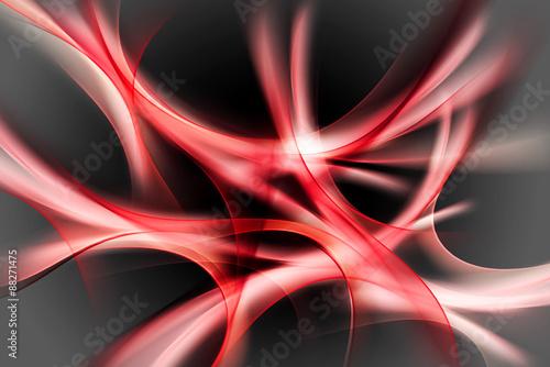 streszczenie-tlo-czerwone-fale