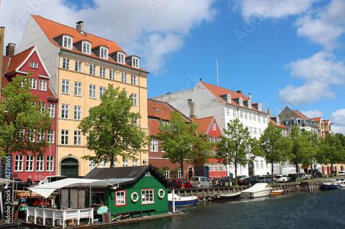 Photo  コペンハーゲンのカラフルな街並み